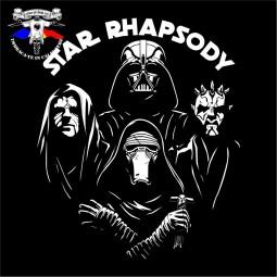 detaliu tricou Star Rhapsody