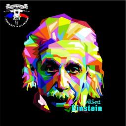 detaliu tricou Albert Einstein
