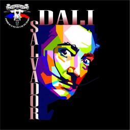 detaliu tricou Salvador Dali 3