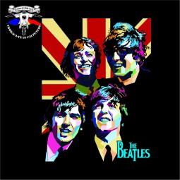 detaliu tricou The Beatles
