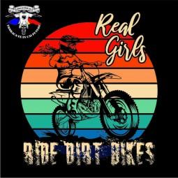 detaliu tricou real dirty girls