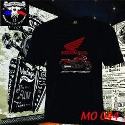 tricou negru honda CTX