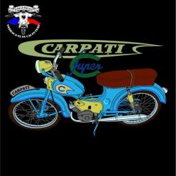 detaliu tricou carpati