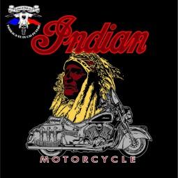 detaliu tricou the indian & the chief