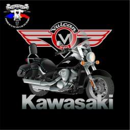 detaliu tricou kawasaki vn 900