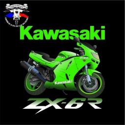 detaliu tricou kawasaki zx-6r