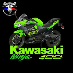 detaliu tricou kawasaki ninja 400