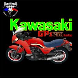 detaliu tricou kawasaki gpz 750