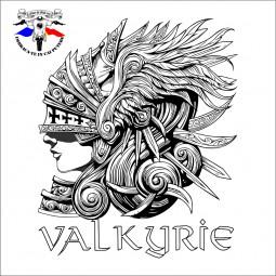 detaliu tricou the first valkyrie of honda
