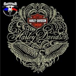 detaliu tricou harley davidson the eagle 6