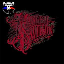 detaliu tricou harley davidson 1