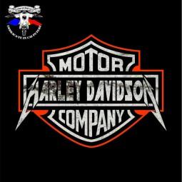 detaliu tricou harley davison 2