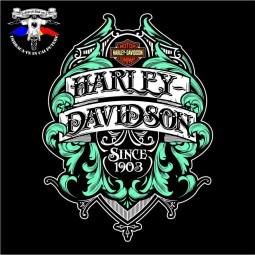 detaliu tricou harley davidson 4