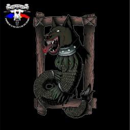 detaliu tricou lupul dacic 4