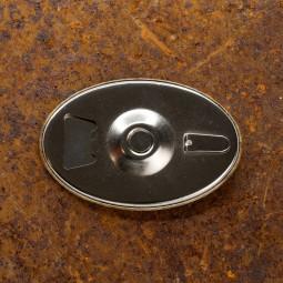 Desfacator de bere,frigider cu magnet ''Calare pe doua roti''
