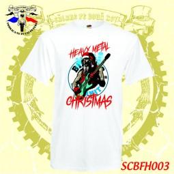 Exemplut tricou personalizat Heavy metal  BFH Christmas motociclete craciun