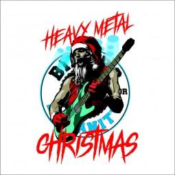 Detaliu Heavy metal  BFH Christmas motociclete craciun