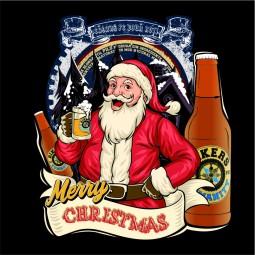 Detaliu Merry Christmas Beer
