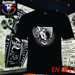 tricou negru motocross