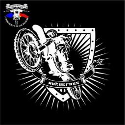 detaliu tricou motocross