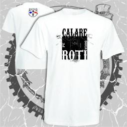 """tricou personalizat """"Cafe pe doua roti"""" printată dtg"""