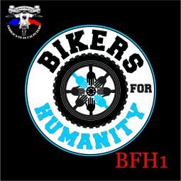 Detaliu logo Bikers for Humanity