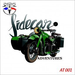 """Body Bebe """"Sidecar adventures"""" personalizat printat dtg"""