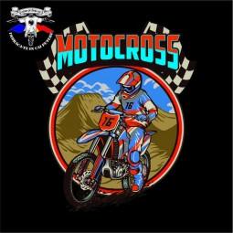 detaliu tricou motocross race