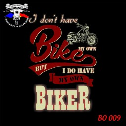 """""""I don't have my own bike"""""""