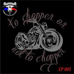 "Body Bebe ""To chopper or not to chopper"" personalizat dtg"