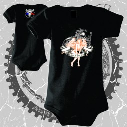 """Body Bebe """"The angel of the motorcycle"""" personalizat print dtg"""