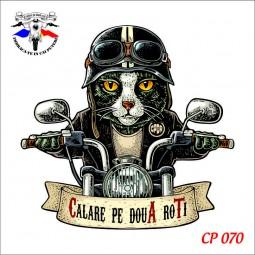 """Body Bebe """"Cat pe două roti"""" personalizat dtg"""
