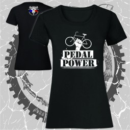 Tricou negru Pedal Power