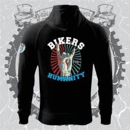 Hanorac premium personalizat dtg Bikers for Humanity