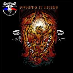 detaliu tricou phoenix is rising