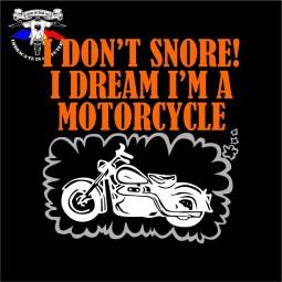 detaliu tricou i don't snore!