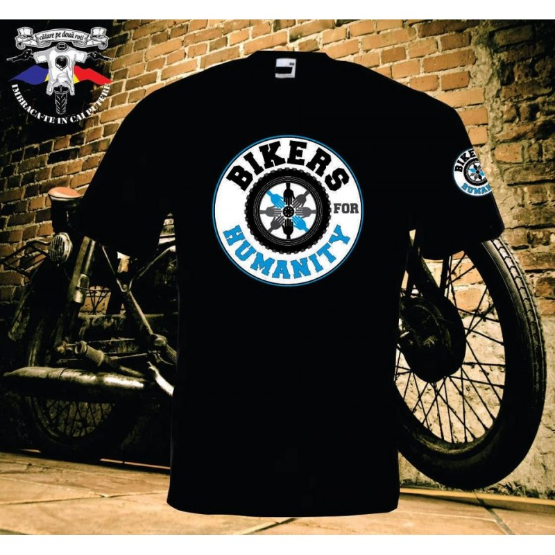 Tricou personalizat Bikers for Humanity