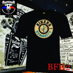 Tricou personalizat dtg Bikers for Humanity Vintage