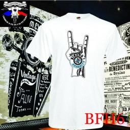 "Tricou personalizat dtg Bikers for Humanity ""rock and roll"""