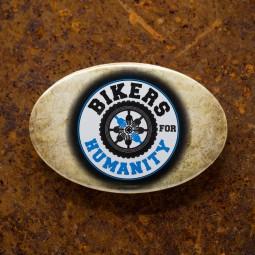 Magnet de frigider cu desfacator personalizat Bikers For Humanity