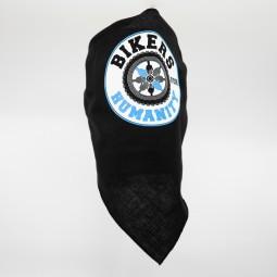 Exemplu Bandana Neagra Personalizata Bikers For Humanity