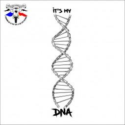 detaliu tricou ADN