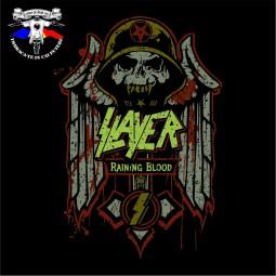 detaliu tricou Slayer